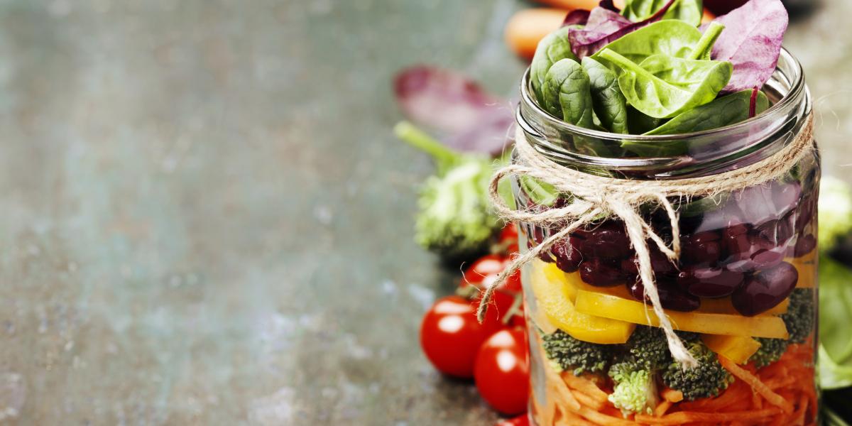 Como preparar as melhores Saladas no Frasco