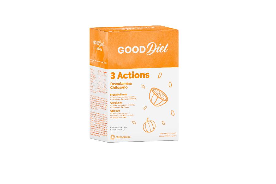 GOOD DIET 3 Actions | 60 comprimidos